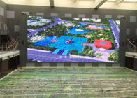 6m x 4m Electronic Advertising LED Screens Water Proof Outdoor TV Screen 1R1G1B P8 / P10