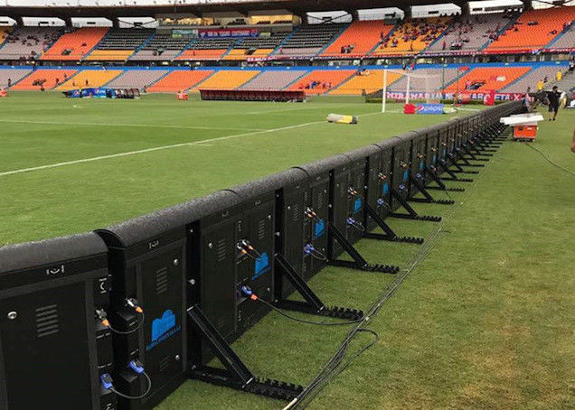 External Banner Sports Perimeter Led Display Ip65 6000 Nits For Football Field