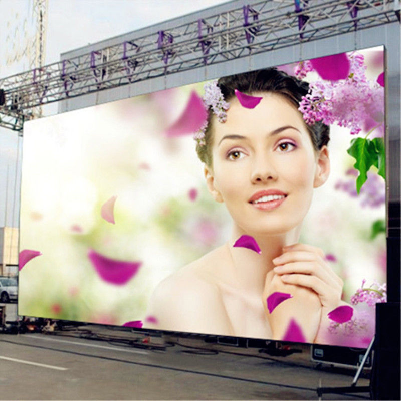 2000CD/Sqm Full Color Led Signs Outdoor Iron Material Constant Current Driver IC